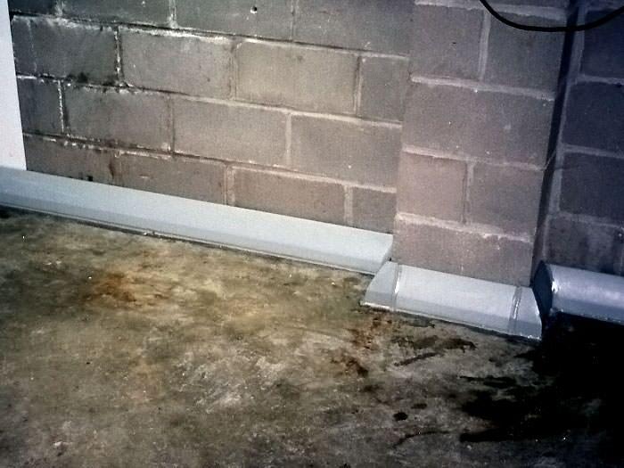 Baseboard Basement Drain Tile System Near Surrey, Vancouver