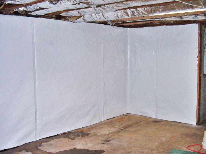 Basement Wall Vapor Barrier System in Surrey, Vancouver