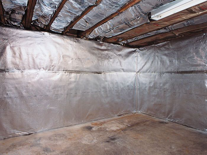 thermaldry basement radiant wall barrier in vancouver surrey burnaby
